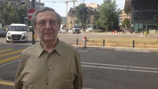 Willi Horber: seit 43 Jahren Mieter im Zürcher Nagelhaus