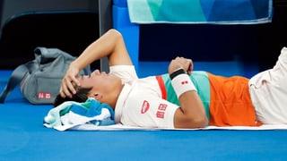 Der Tank war leer: Nishikori muss gegen Djokovic aufgeben (Artikel enthält Video)
