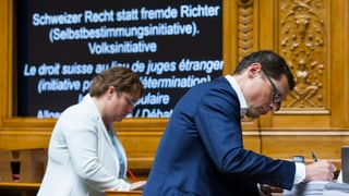 CN: Lantschà debatta davart iniziativa d'autodeterminaziun