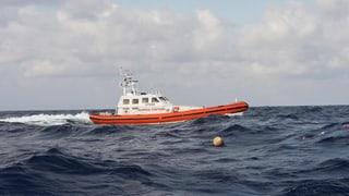 Boot der italienischen Küstenwache darf nicht anlegen