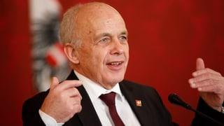Maurer warnt vor «Wirtschaftskrieg» mit Brüssel