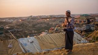 Thomas Gutersohn im Flüchtlingslager