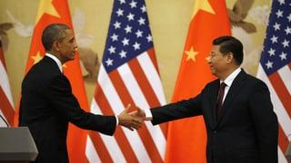 USA und China einigen sich auf Klimaziele