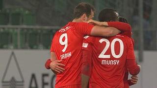 So liefen die Partien St. Gallen - Thun und GC - Sion