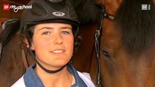 Video «Berufsbild: Pferdefachfrau EFZ » abspielen