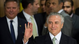 Brasilia: il vicepresident Michel Temer ha surpiglià il timun