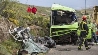 Busunglück: Erste Verletzte wieder in der Schweiz