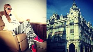 «Beautiful building»: Paris Hilton hin und weg von der Schweiz
