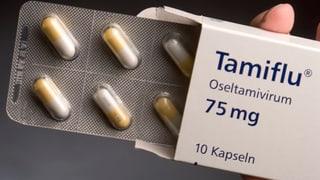 Harsche Kritik am Grippemittel «Tamiflu»