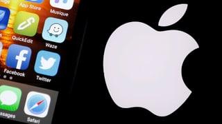 Bei Apple zeigt die Kurve nach unten