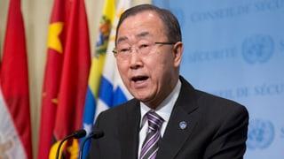Ban Ki Moon: Atomtest Nordkoreas «zutiefst besorgniserregend»