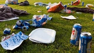 300 Franken für den weggeschmissenen Abfall