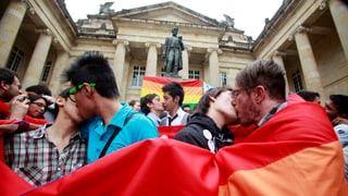 Kolumbien erlaubt die Homo-Ehe