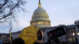 US-Senat verschiebt Abstimmung über Steuerreform