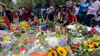 Südafrika bereitet sich auf das Begräbnis seines Helden vor