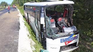 Eurobus-Unfall: Car hatte kein technisches Problem
