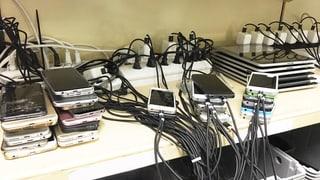 Diebstahlschutz macht Geräte im Fundbüro unverkäuflich