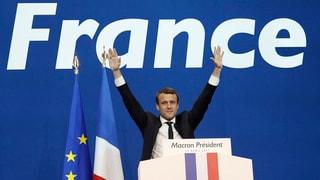 Der Sieg von Emmanuel Macron scheint gewiss. Lesen Sie mehr über seine Ausgangslage.