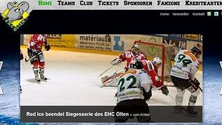 Eishockey: Oltens Siegesserie ist gerissen
