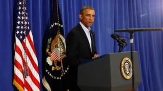 Obama kündigt weitere Militärschläge gegen den IS im Irak an