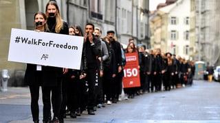 Opfer von Menschenhandel – sie leben mitten unter uns