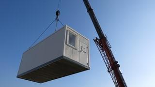 Architekt will feste Bauten statt Wohncontainer für Flüchtlinge