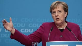 Merkels Rückzug in Raten – das Protokoll zum Nachlesen