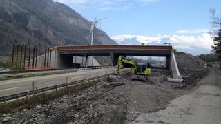 Eine neue Wildbrücke