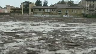Überschwemmungen in Norditalien