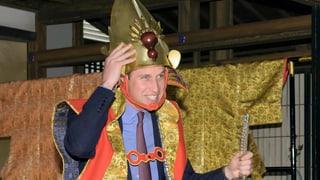 Prinz William ist jetzt auch ein Samurai