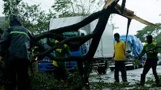 Taifun «Koppu» fordert erste Opfer