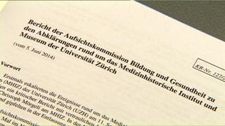 «Führungsgremien der Uni Zürich haben versagt»