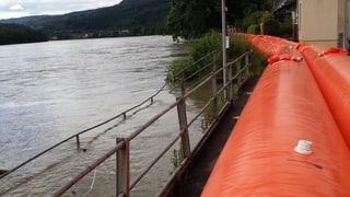 Hochwasser in der Region: Das Gröbste ist wohl (vorläufig) vorbei
