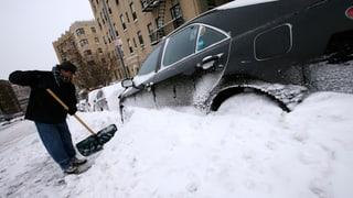 USA: Dem Schneesturm folgt arktische Kälte