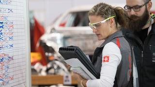 Nagins Swiss Skills en Grischun