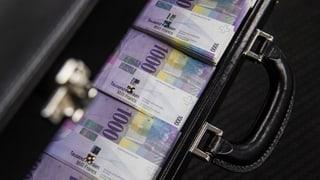 Die Schweiz ist das beliebteste Gelddepot