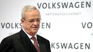 Il CEO da VW na sa retira betg
