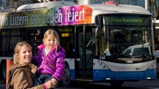 Luzerner Verkehrsbetriebe fahren Rekordfrequenzen ein