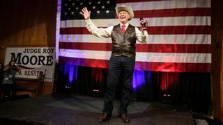 Trump setzte auf einen anderen: Moore gewinnt parteiinterne Vorwahl der Republikaner.