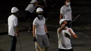 Wer hinter den Hongkonger Schlägertrupps steckt