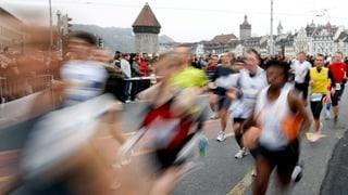Luzerner Marathon mit neuer Streckenführung