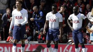 0:1, 1:0, 0:1, 0:1, 0:1 – Tottenham braucht wieder dringend Tore