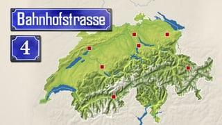 «Bahnhofstrasse 4 – Radio SRF 4 News unterwegs im Wahljahr»