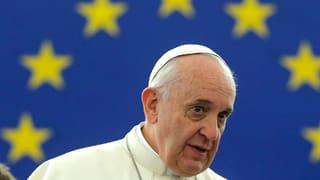 Papst Franziskus fordert Lösungen beim Flüchtlingsthema