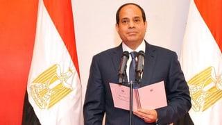 Ägyptens Präsident verspricht Ruhe und Ordnung