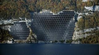 Die Solar-Testanlage am Walensee funktioniert