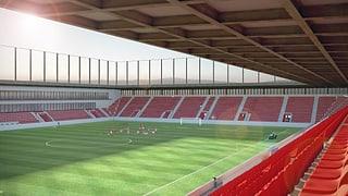 Betteln für das neue Fussballstadion