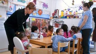 Zangengeburt für mehr Kinderkrippen im Aargau