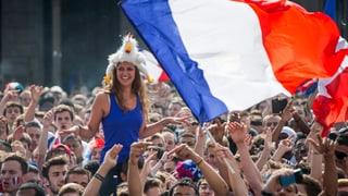 Frankreichs Fussballfans zwischen Festlaune und Terrorangst