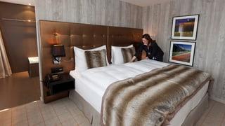 Bündner Hotellerie büsst ein